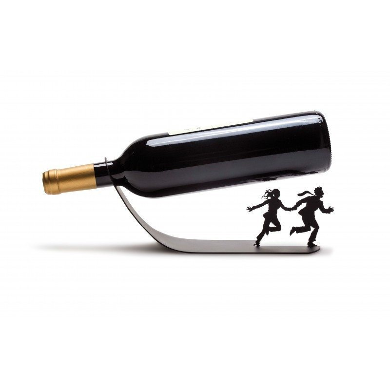 "Portabottiglie ""Wine for Life"""