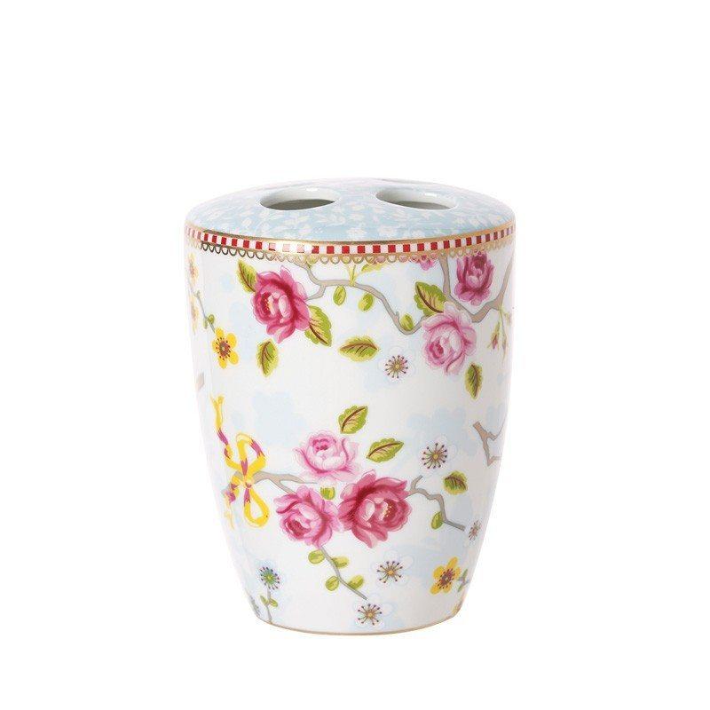 Porta spazzolini in ceramica