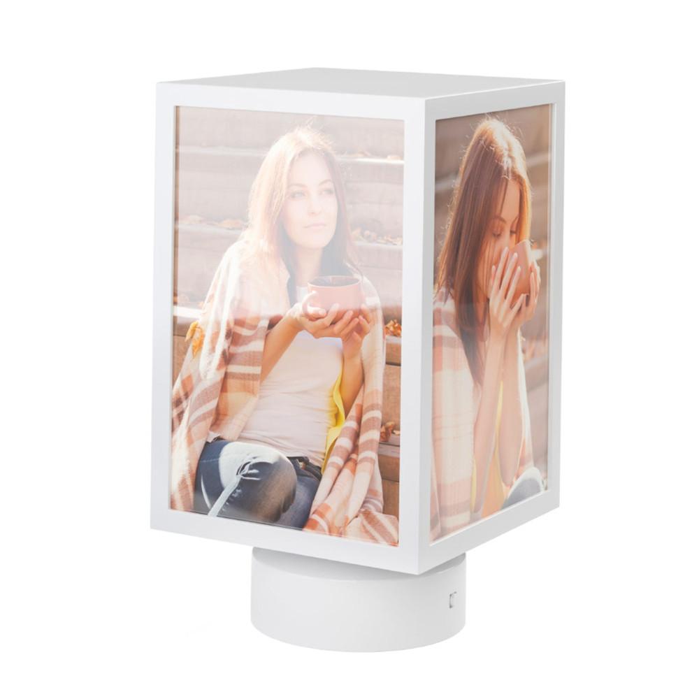 Rotierende Foto-Littfaßsäule