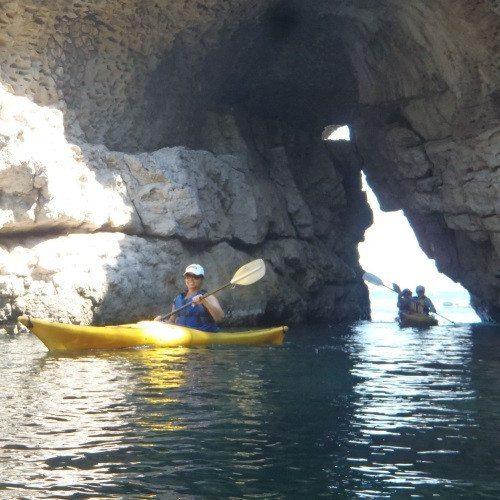 Sea Kayak in Campania