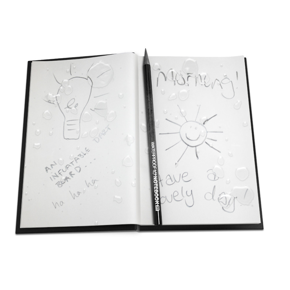 Wasserfestes Notizbuch (braun)