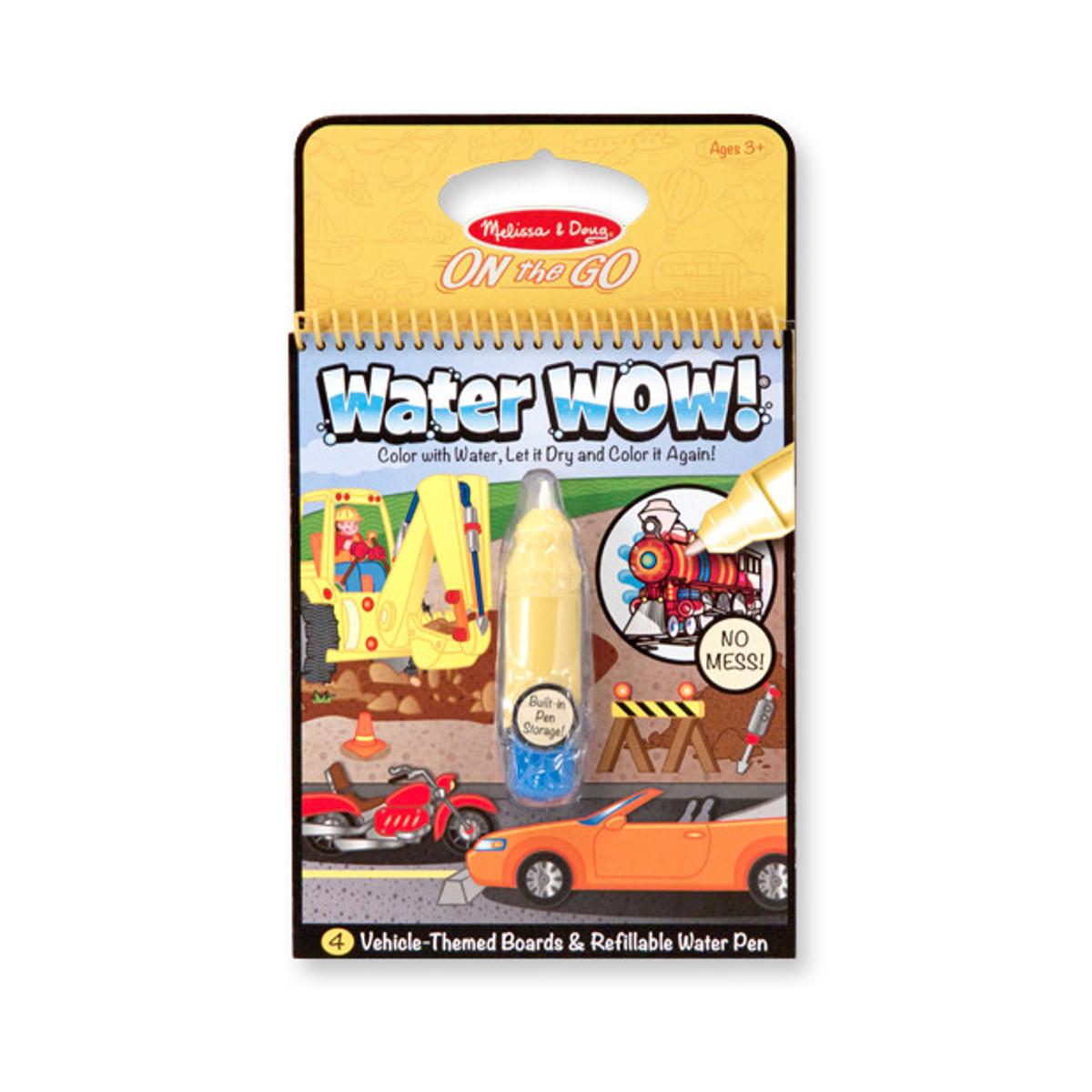 """Water Wow! - Das Wassermalbuch """"Fahrzeuge"""""""