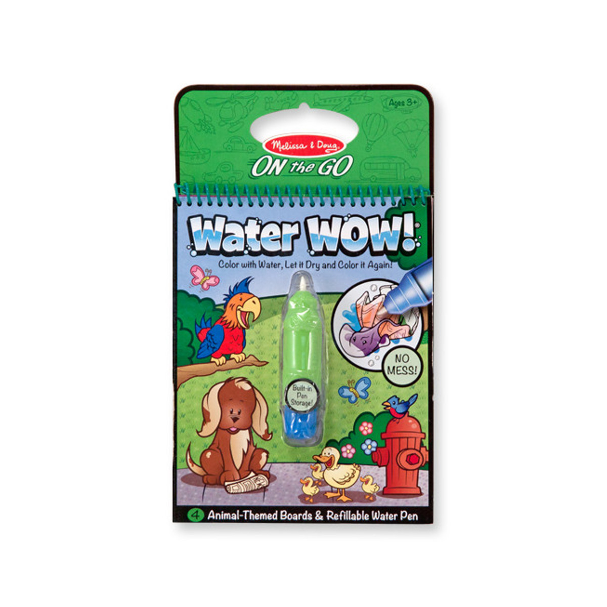 """Water Wow! - Das Wassermalbuch """"Tiere"""""""