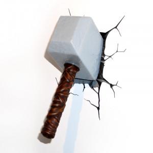 3D-Licht: Thors Hammer