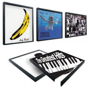 Bilderrahmen für Schallplatten