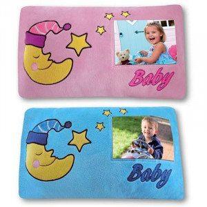 Bilderrahmen-Kissen für das Baby