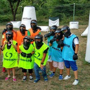 Compleanno con partita a Paintball per bambini - Salerno