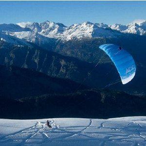 Conosci lo Snowkite - Valle d'Aosta