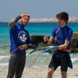 Corso base di kitesurf in Salento - Gallipoli, Puglia
