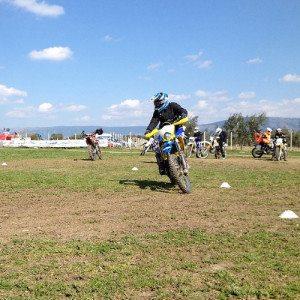 Corso base di moto fuoristrada - Circuito di S.Giusto, Foggia