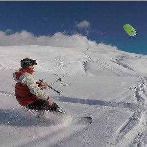 Corso completo di Snowkite - Valle d'Aosta