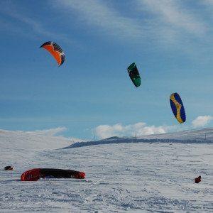 Corso di avvicinamento allo Snowkite - Gran Sasso