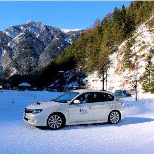 Corso di guida sicura su neve-ghiaccio - Trentino