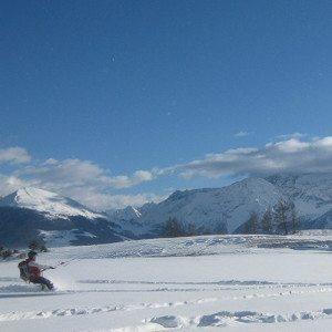 Corso intermedio di Snowkite - Valle d'Aosta