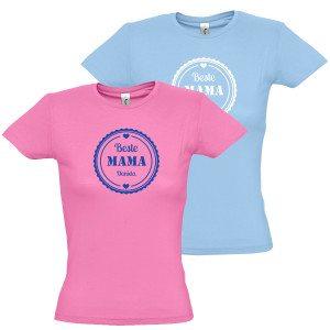 """Damen T-Shirt """"Beste Mama"""""""