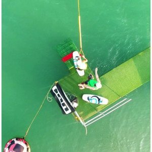 Dieci corse in wakeboard - Farra d'Alpago, Belluno