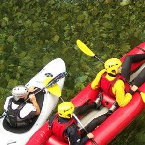 Discesa in canoa gonfiabile - Alta Valsesia