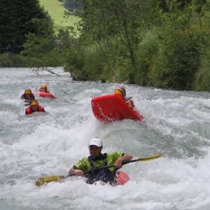 Discesa in Hydrospeed per i fiumi dell'Alto Adige - Val di Tures