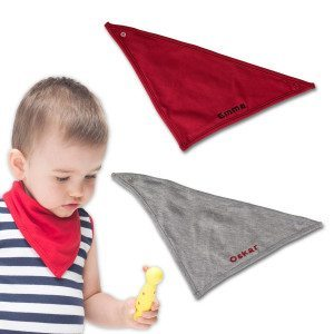Dreieckstuch fürs Baby mit Namen