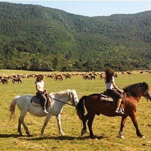 Escursione a cavallo - Parco d'Abruzzo