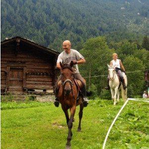 Escursione a cavallo per due persone - Piedimulera
