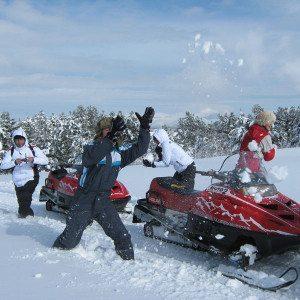 Escursione combinata in quad e motoslitta in coppia - Sila