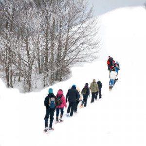 Escursione con racchette da neve - Umbria