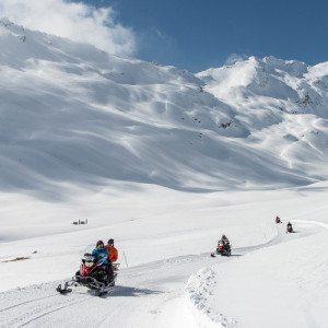 Escursione in motoslitta con pranzo per 2 - Madesimo, Sondrio