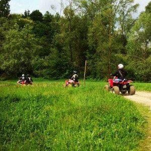 Escursione in quad per due + degustazione nel Monferrato