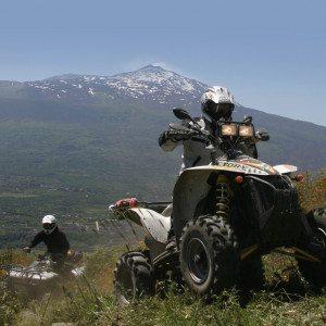 Escursione in quad sull'Etna - Sicilia