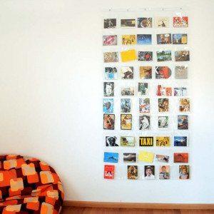 Fotovorhang mit 50 Taschen