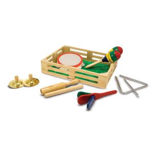 Geschenkset mit Kinderinstrumenten