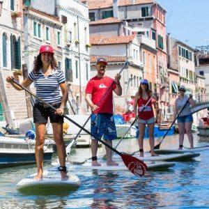 Giro per i canali di Venezia in SUP: escursione guidata - Venezia