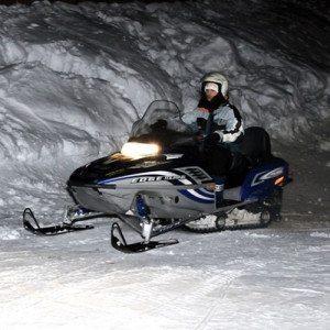 Gita in motoslitta con sosta per cena - Passo del Tonale