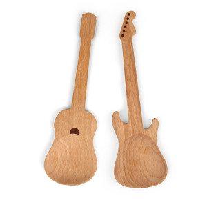 Gitarren Salatbesteck