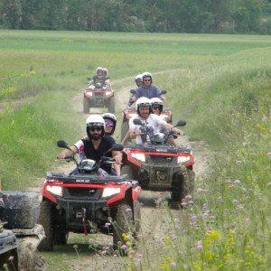 Guida un quad tra le colline del Monferrato con aperitivo