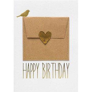 """Gutscheinkarte """"Happy Birthday"""""""