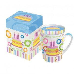 Happy Birthday Tasse in Geschenkbox