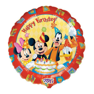 "HELIUMBALLON ""HAPPY BIRTHDAY"" (MICKEY MAUS)"