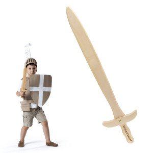 Holzschwert mit Namen