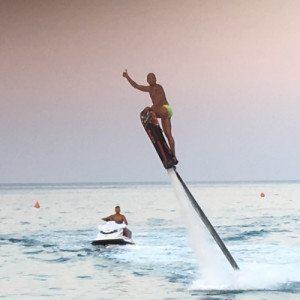 Hoverboard sulle acque calabresi - Costa Ionica, Catanzaro
