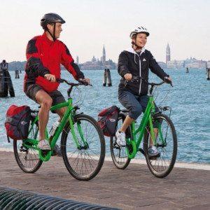 In Bici al Lido e soggiorno in villa - Venezia