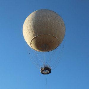 In mongolfiera sulla città di Torino: il Turin Eye