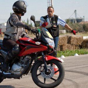 Introduzione alla guida della moto - Circuito S. Cecilia di Foggia