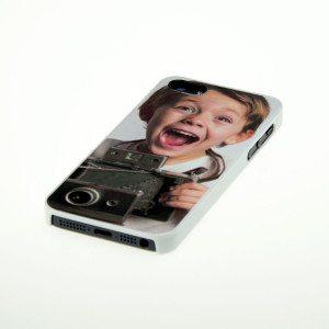 iPhone 5 Cover mit Fotodruck - weiß