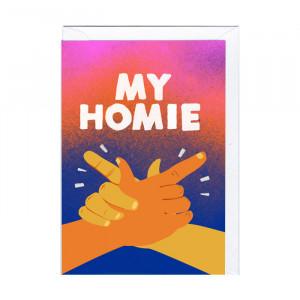 """Karte """"My homie"""""""