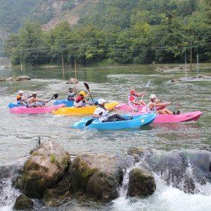 Kayak sul fiume Adda: 3 livelli di difficoltà - Sondrio