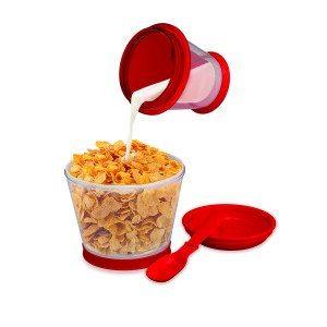 Kellogg's Frühstück to go - Cornflakes-Becher