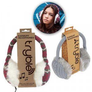 Kuschelige Ohrenschützer-Kopfhörer