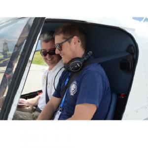 L'ebbrezza del volo in elicottero, simulazione di volo - Trento
